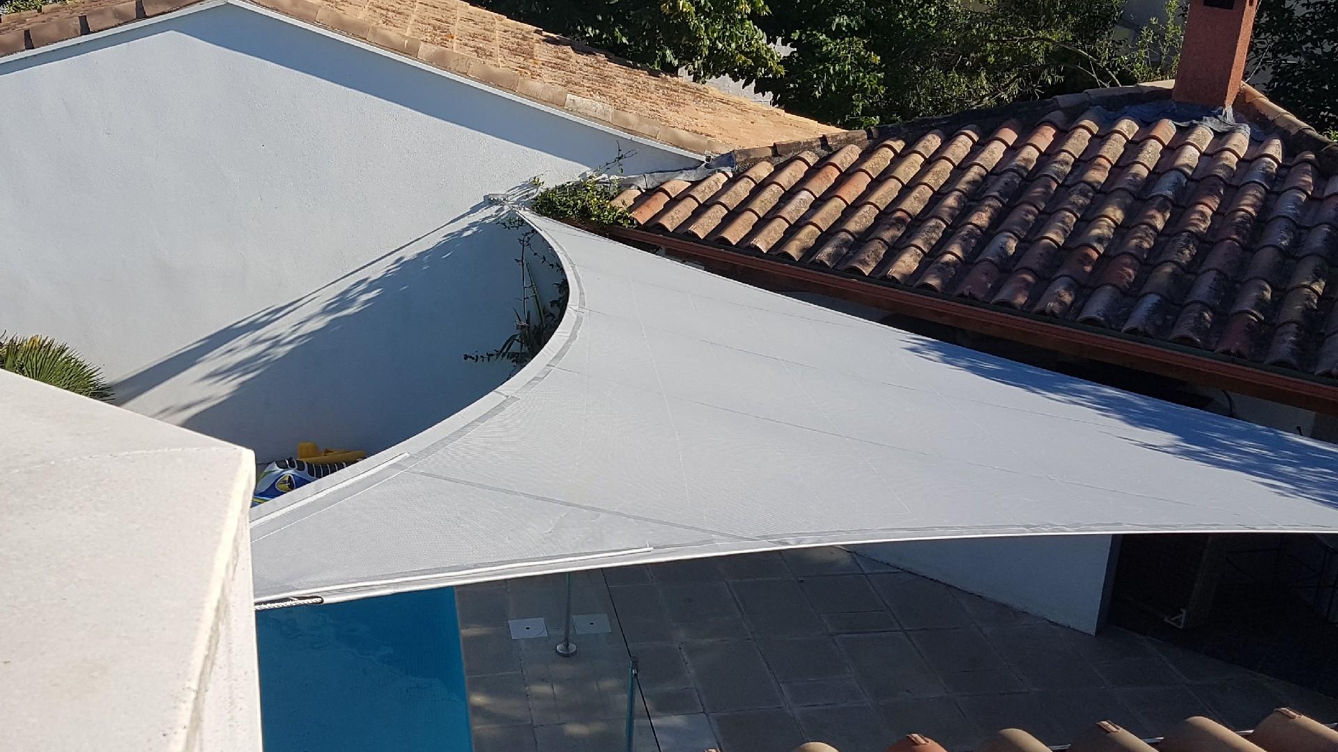 installation stores de terrasse à Montpellier   AB Tertiaire